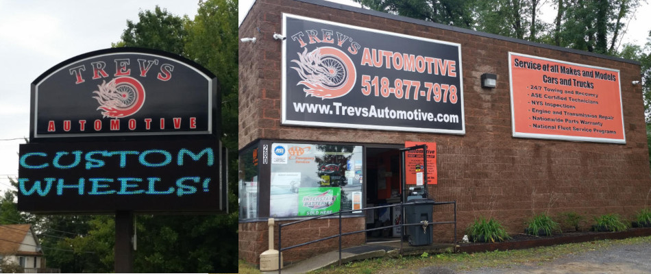 Trev's Automotive Storefront